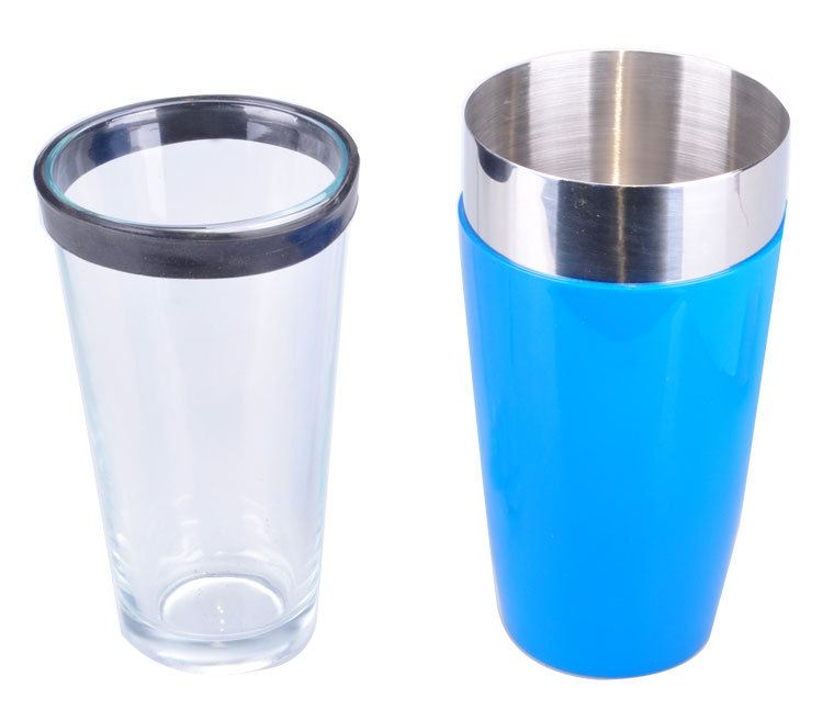 Blue BOSTON cocktail shaker set twinset cup cocktail shaker shake pot cocktail set(China (Mainland))