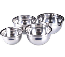 Thickening stainless steel bowl mixing bowl diy cake salad bowl soup bowl(China (Mainland))