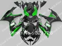 green black silver for SUZUKI GSXR600 750 06-07 GSXR750 06 07 GSXR 600 2006 2007 2006-2007 ABS fairing kit