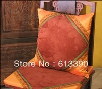 Free shipping New Arrival Pillowcases Suede imitation double palace forging Patchwork exotic Cushion Cover 1pc 50*50cm CC39