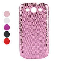 Glittery Paillette Style Hard Case for Samsung Galaxy S3 I9300 (Assorted Colors)