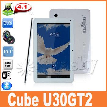 Hot Cube U30GT2 RK3188 Quad Core 1.8GHz 10.1inch FHD IPS Retina Screen 2GB RAM 32GB ROM HDMI Bluetooth Camera 5.0MP AF
