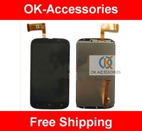 Over 5pcs 3% off ! Original new LCD+touch scerr digitizer completed assembly for HTC desire X T328e 1pcs/lot free shipping