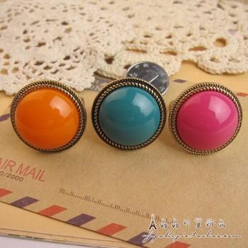 Fashion neon 1997 brief fashion noble ring small accessories n3