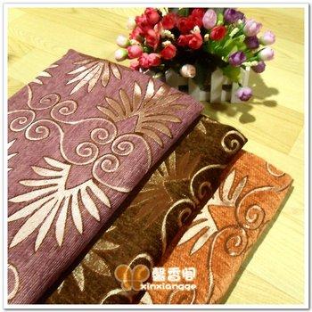 Fashion chenille sofa cloth fabric cloth soft handmade diy cushion curtain