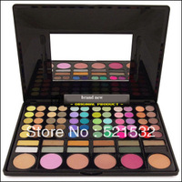 1PC makeup Set New User cosmetic makeup eyeshadows 78colors eyeshadow with blush palette  natural eyeshadow palette FS-M1329