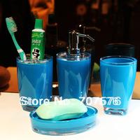 Bathroom supplies kit bathroom four piece set acrylic shukoubei set cup brush