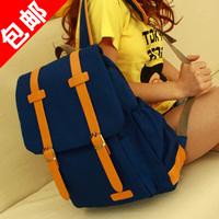 canvas  bag preppy style student school bag  laptop bag B1010