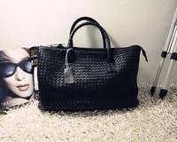2013 fashion elegant cowhide shoulder bag women's handbag big bag
