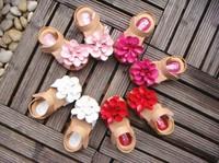 2014 summer kids sandals for girls shoes flowers Baotou sandal princess shoes children shoes