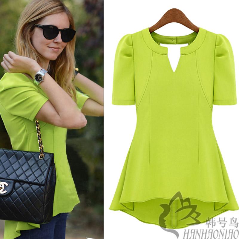 Блузка Без Рукавов Зеленая Из Шифона Вискозы