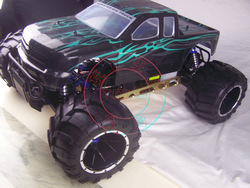 Hsp monster truck remote control fuel 94050 30cc gasoline car(China (Mainland))
