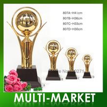 Frete grátis / Mundo Copa troféu da Copa do metal prêmios, presentes Trophy Cup Atacado # TC-807(China (Mainland))
