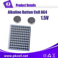 100PCS/lot PKCELL AG4 1.5V SR626 LR66/177/626 SR66 177 377 LR626 Button Cell Coin Battery
