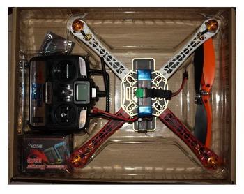 F450 FlameWheel w/KK Controller Radio/Battery Quad-copter Full set RTF Assambled