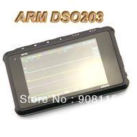 Oscilloscope Mini Pocket Digital Oszilloskop ARM DSO203 Quad Mobil TFT Scope Oscilloscope with Aluminum Black Case Free Shipping