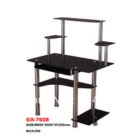 GX-7608 STAINLESS  computer desk