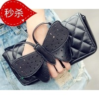 Free Shipping Fashion hot-selling fashion butterfly women's handbag clutch bag women's one shoulder cross-body small bags