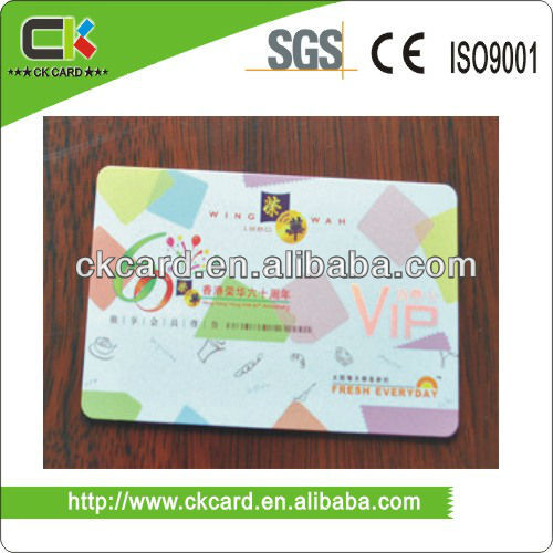 ISO Standard plastic card(China (Mainland))
