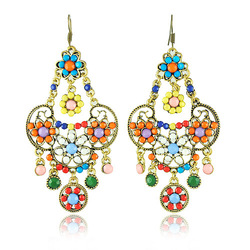 New Arrival Vintage Jewelry Bohemia Style Vintage Earrings for Women(China (Mainland))