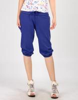 2013 spring and autumn women's fleece capris trousers knee length plus size