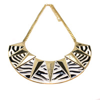 Minimum Order $6 Free Shipping Best Selling 2013 New Arrival  Jewelry Gothic Punk Bib Necklace Collar N129