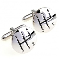 Gears Cufflink 3 Pairs Free Shipping Crazy Promotion