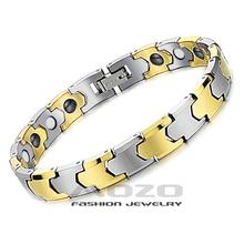Wholesale 2015 New Hot Sale Fashion Jewelry Health Chain Women/men Tungsten Steel 18k Gold Plated Bracelets For Women/men Ty935 (China (Mainland))