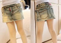 freeshipping/2013  summer dresses / white old miniskirt /A word skirt/y67