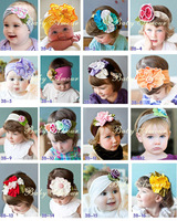 Factory direct-handmade hair accessories baby hair   FREE SHIPPING