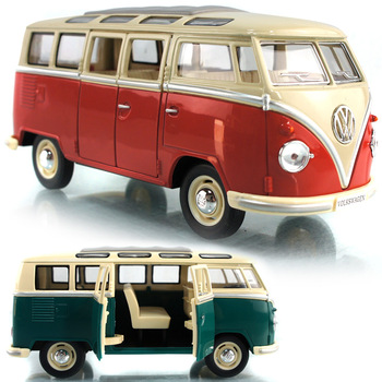 Vw kinsmart classic commercial bus exquisite car model