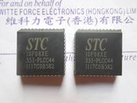 Stc single chip stc10f08xe-35i-plcc44 stc10f08xe