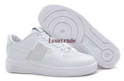 Free Shipping Wholesale Famous Lunar Force 1 2013 High Men&#39;s Fashion Sneaker Skate Board Shoes (white)(China (Mainland))