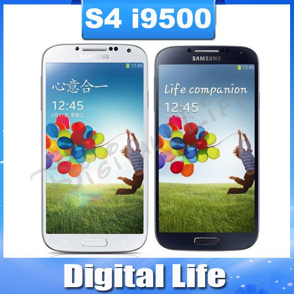 S4 Unlocked Original Samsung Galaxy S4 S IIII SIIII i9500 Quad-core 3G&4G 13MP GPS WIFI 16G Refurbished Mobile Phone(China (Mainland))