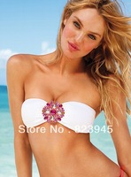 Free shipping 2013 Hot Sale Bikini Sexy Crystal Diamond Swimwear  For Women/Push Up Bathing Suit