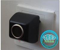 Home car cigarette lighter plug power converter 220 12v 600ma household power