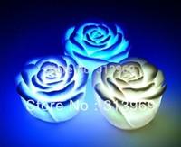 200pcs Rose LED light changing color LED candle top deal  led candle light