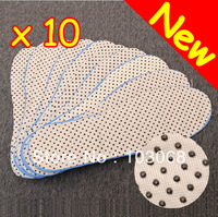 New Power Ion Tourmaline Far Infrared Rays Heat Health Cotton Insole Free Shipping