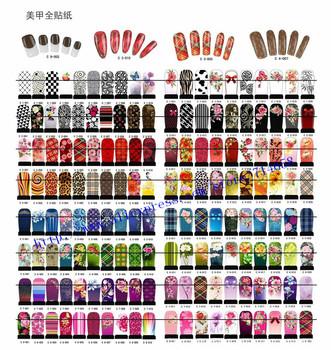 wholesale nail salon beauty wraps nail art decals water transfer Nail polish Sticker 500pcs/lot free DHL/EMS shipping