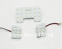 Free shipping 3pcs/set 5050 LED car Reading light for Kia Sportage, Sportage interior dome light