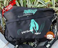 Free Shipping New Anime Hatsune Miku Messenger Bags Cosplay Shoulder Bag Canvas