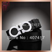 New Style HOT SELL Famous Desige Genuine Leather Belt Womens/Mens Belt/Strap Lady's Belt Men's Belt