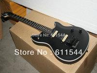 Free Shipping New Arrival Black   Electric Guitar Ebony Fretboard Wholesale