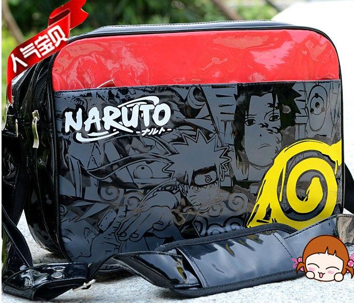 Free Shipping New Anime NARUTO Uzumaki Naruto Messenger Bags Cosplay Shoulder Bag(China (Mainland))