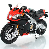 Free Shipping! 2013  newest ! 1:12 Proportion Exquisite Alloy SUPPER motorcycle Model Aprilia RSV4 With suspension