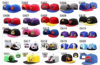 Free shipping Cheap superman adult Snapback Hats most popular cartoon caps many choice pick your styles! Cartoon style snapbacks