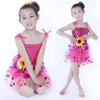 Child infant costume female child clothes child dance wear ballet performance skirt baby