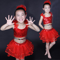 Child dance clothes children dance costume tulle dress belly dance skirt child costume female child