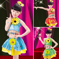 Child dance infant clothes female child costume butterfly skirt dance skirt