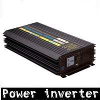 3000W inverter 24V to 120V 60HZ Power Inverter car inverter pure sine wave inverter free shipping